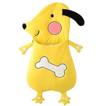LL-SUNGIRL Baby Wickelschlafsack, Neugeborenes Kind Baumwolle Winter Babydecke Kinderwagen Schlafsack Säugling Junge Mädchen Schlafsack Baby Wickeldecke (Gelb),Gelb,105cm