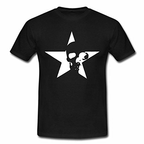 Hotrod T Shirt mit Skull im Stern Tolles Geschenk für Jeep und Hot Rod Biker Fans bedrucken