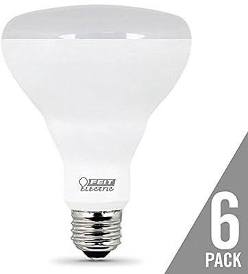 FEIT ELECTRIC BR30DM/10KLED/6 BR30/DM/10KLED/6 650 Lumen 2700K Dimmable BR30 LED, 6 Piece