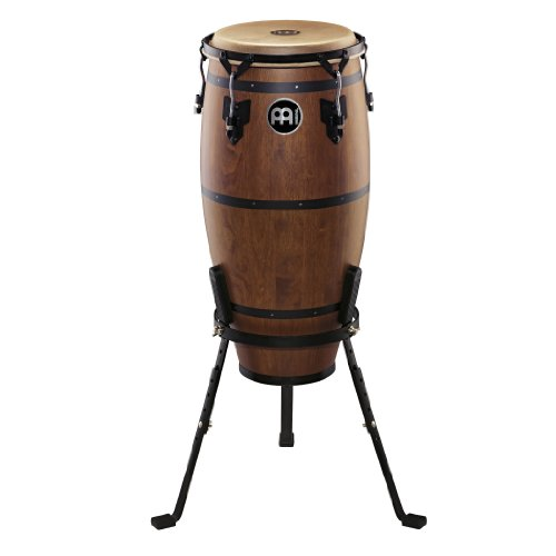 Designer Series Congas (Meinl Percussion HTC11WB-M Headliner Traditional Designer Series 11-Inch Quinto With Basket Stand, Walnut Brown)