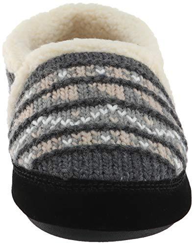 Pantuflas Mujer Mocasines Grey Nordic Acorn wXxdUSd