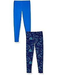A para impresionante Niñas 2-pack espacio y planetas Leggings Pant Set