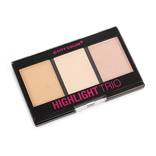 City Color Mini Highlight Trio Set of 3 by City Color Cosmetics