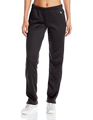 Soffe Women's Juniors Tech Fleece Pant, Black, X-Small - Rise Low Sweatpants