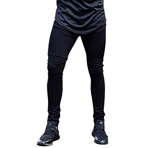 Estilo Vintage Comodo Pants Morbido Di Especial Fashion Slim Nero Pantalone Fit Basic Jeans Skinny Da Uomo Stretch Denim In wSxZzqOn