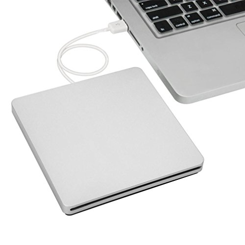 Welcomeuni USB External Slot-in DVD CD RW Burner Writer Drive for iMAC MacBook Pro Air