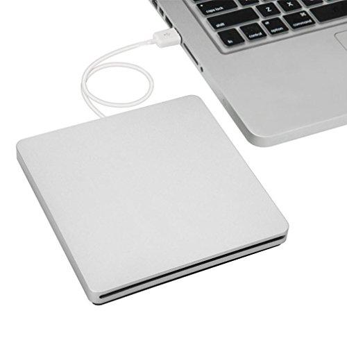 Welcomeuni USB External Slot-in DVD CD RW Burner Writer Drive for iMAC MacBook Pro Air