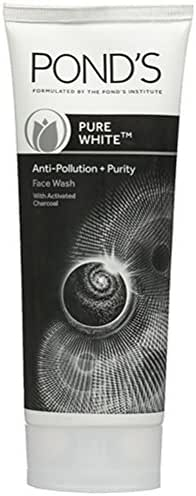 Pond's Pure White Anti Pollution with Purity Face Wash, 100g (Pack of 2)