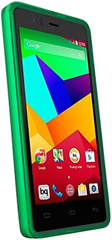 BQ E000433 - Funda Flexible para BQ Aquaris E5 4G LTE, Color Verde ...