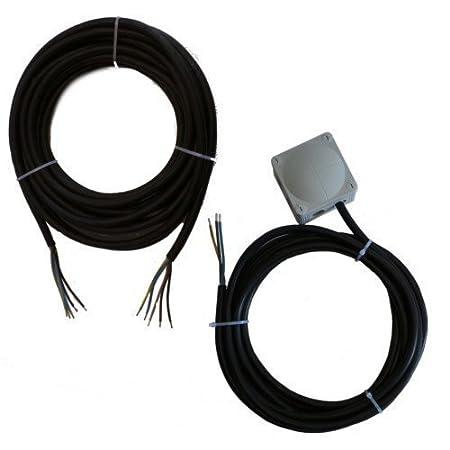 Montageset für Klimaanlageninstallation Single Split 3x4,0mm² 1Phasig (Kommunikationsleitung 15 Meter)
