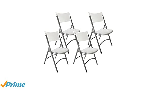 Resol Klaus - Set de 4 sillas plegables, plástico, 46 x 49 x ...