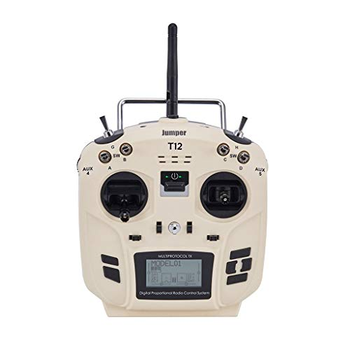 SMOXX Transmitter & Receiver, Jumper T12 OpenTX 16CH Radio Transmitter with JP4-in-1 Multi-Protocol RF Module