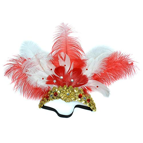 Perfect Costume Accessory Feathered Headgear Headpiece Headwear
