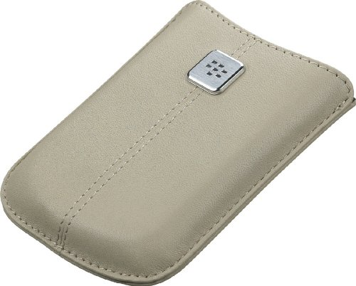 BlackBerry 8900, 8520 Leather Pocket (Sandstone)