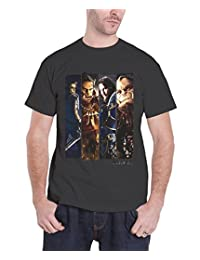 World of Warcraft T Shirt Official Character Slice new Mens Charcoal