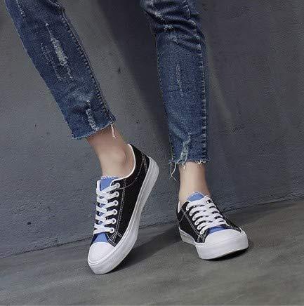 Sneakers Vulcanizzate Sneaker Di Casual Con Tela Solido Sportive Da Scarpe Leggere Colore In Donna Outdoor Ysfu d0wEq8E