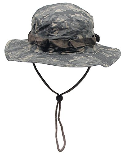 US Army GI Ripstop Boonie Bush Hat ACU Digital Camo,SIZE M