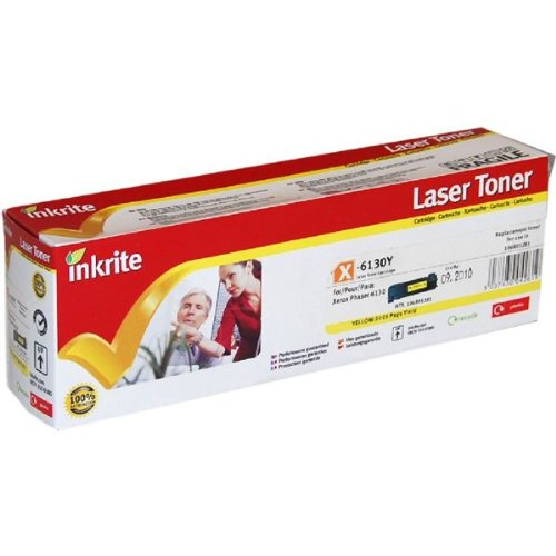·Inkrite Laser Toner Cartridge compatible with Xerox Phaser 6130 Black