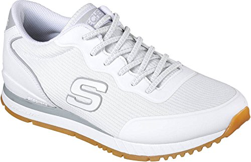 Skechers Men's Sunlite Sneaker,White,US 8.5 M