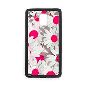 High-end Custom Painted Flower Phone Case For Samsung Galaxy note 4 [Pattern-6] at Little Man