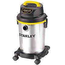 Stanley Wet/Dry Vacuum, 4 Gallon, 4 Horsepower, Stainless Steel Tank