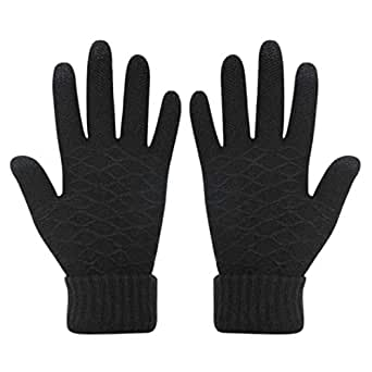 Amazon.com: Womens Touch Screen Warm Soft Winter Knit
