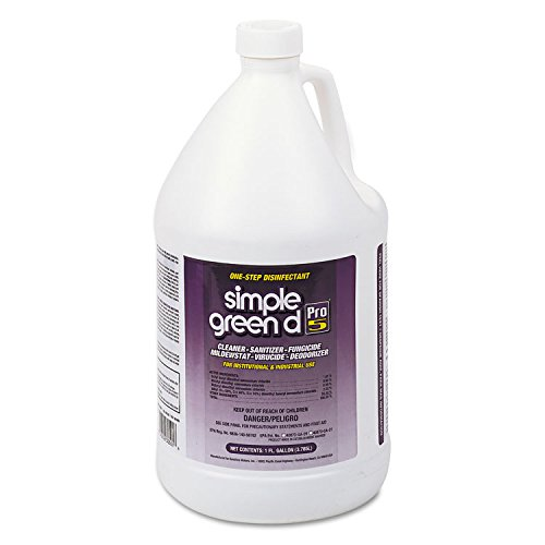 SMP30501 - Pro 5 One Step Disinfectant, 1 Gal. (Simple Green Disinfectant)
