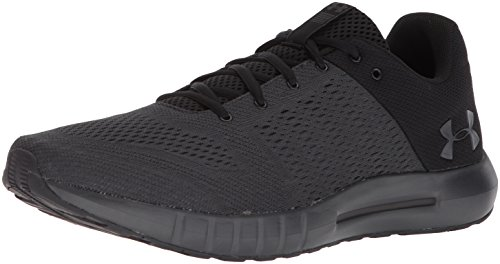 Under Armour Men's Micro G Pursuit Running Shoe, Anthracite (104)/Black, 12 M US