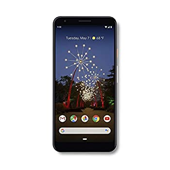 Unlocked Cell Phones Google - Pixel 3a XL with 64GB Memory Cell Phone (Unlocked) - Clearly White (Renewed)