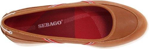 Sebago Womens Calypso Skimmer Slip-On Brown RnMgG
