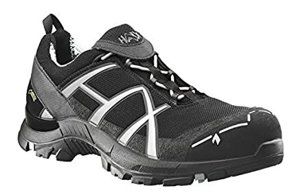Haix - Botas de Seguridad Black Eagle Safety 41 Low Black/Silver, Color, Talla 45 EU / 10,5 UK: Amazon.es: Amazon.es