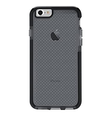 premium selection cd4b0 bf61a Tech21 Protective Apple iPhone 7/8 Case Thin Patterned Back Cover with  FlexShock - Evo Check - Smokey Black