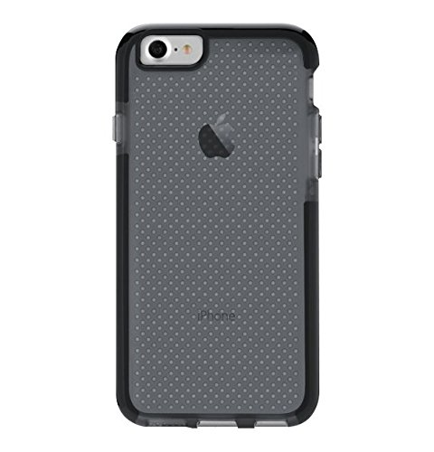 premium selection 2e483 4fd77 Tech21 Protective Apple iPhone 7/8 Case Thin Patterned Back Cover with  FlexShock - Evo Check - Smokey Black