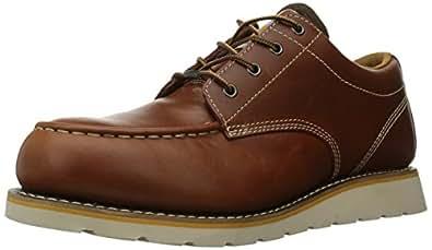 Carhartt Men's Moc Toe Wedge Oxfords,Brown,14 M