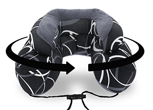 Cabeau Evo Microbead Travel Neck Pillow - The Best Travel Pillow with Microbeads - 360 Head & Neck Support - GREY SWERVE by Cabeau (Image #1)