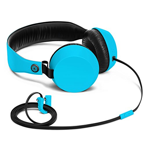 Nokia Coloud Boom Over-Ear Headphones for iPod, iPhone, MP3 and Smartphone - Cyan Blue