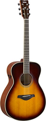 Yamaha FS-TA Concert Size Transacoustic Guitar w/ Chorus and Reverb, Brown Sunburst