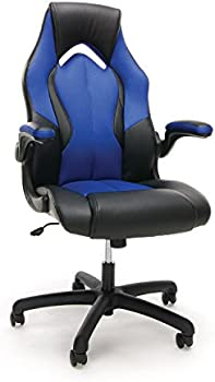 Essentials by OFM High-Back Racing Style Leather Gaming Chair