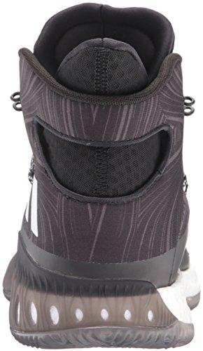 adidas Performance Herren Crazy Explosive Basketballschuh Schwarz / Schwarz 1 / Weiß