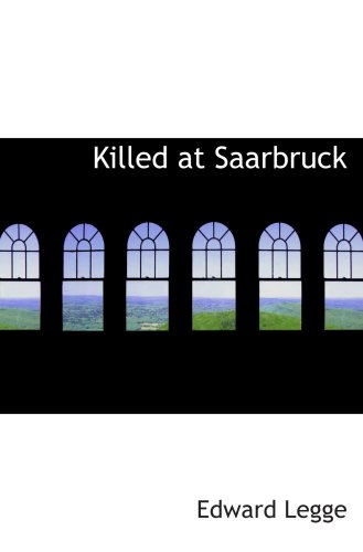 Killed at Saarbruck PDF