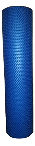 Blue Exercise Foam Roller for Sore Muscle Stimulation and Re