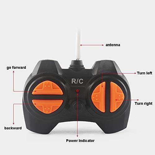 TwoCC Jouet pour voiture télécommandée, cadeau de jouet pour voiture jouet pour enfants (véhicule tout-terrain) avec télécommande (Vitesse de dérive) (Noir)
