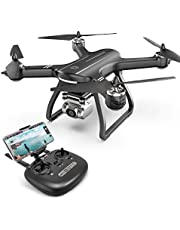 Holy Stone HS700D Drone with 4K HD Camera FPV Live Video and GPS Return Home, RC Quadcopter for Adults Beginners with Brushless Motor, Follow Me, 5G WiFi Transmission, Upgraded with Anti-Shake Gimbal