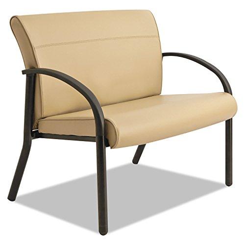 La-Z-Boy BLF14AWSHT Gratzi Reception Series Bariatric Guest Chair, Taupe Vinyl - Series Bariatric Guest Chair