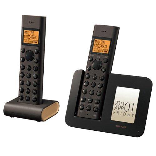シャープ デジタルコードレス電話機 子機1台付き ブラウン系 JD-3C1CW-T B004NH7FT0  ブラウン