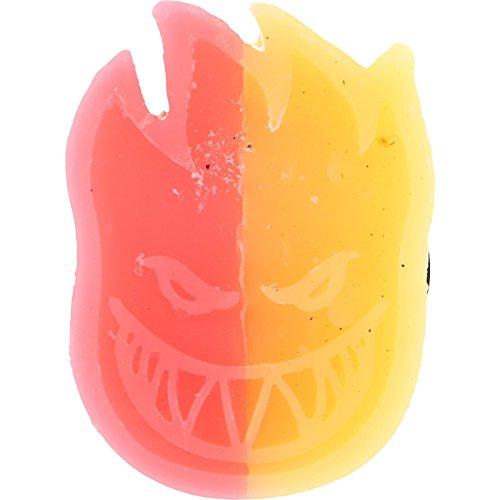 Spitfire Swirl Curb Red / Orange Skate Wax