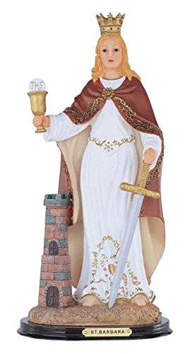 "StealStreet SS-G-312.11 Saint Barbara Santa Holy Figurine Religious Decoration Decor, 12"""