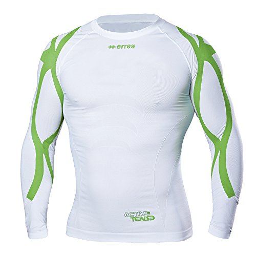 Errea Active Tense Fysio Long Sleeve Shirt, Improve Posture and Performance, Support for Shoulder Muscles, Back and Arms