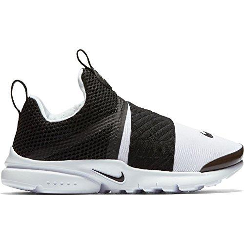 Nike Presto Extreme (PS) Pre School Boys Fashion Sneakers White/Black 870023-100 (1 M US) by Nike (Image #4)