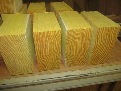 Amazon com: Osage Orange Lathe Turning Exotic Wood Bowl Blanks